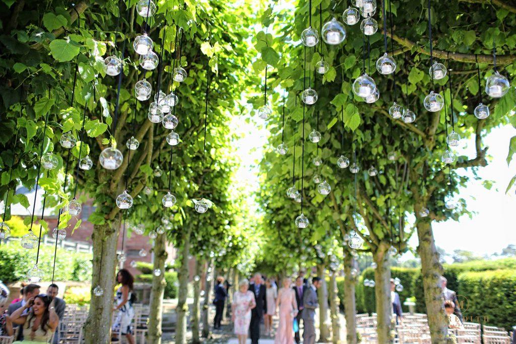 Outdoor ceremony venue - Thornton Manor