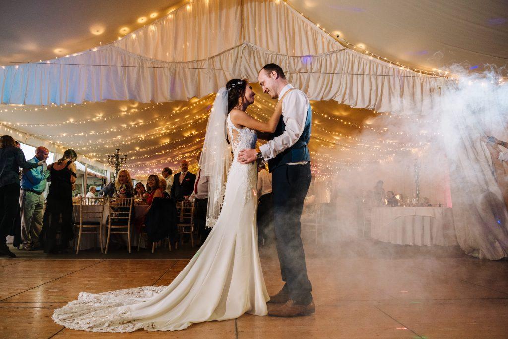 Dell Pavilion | Bride & Groom